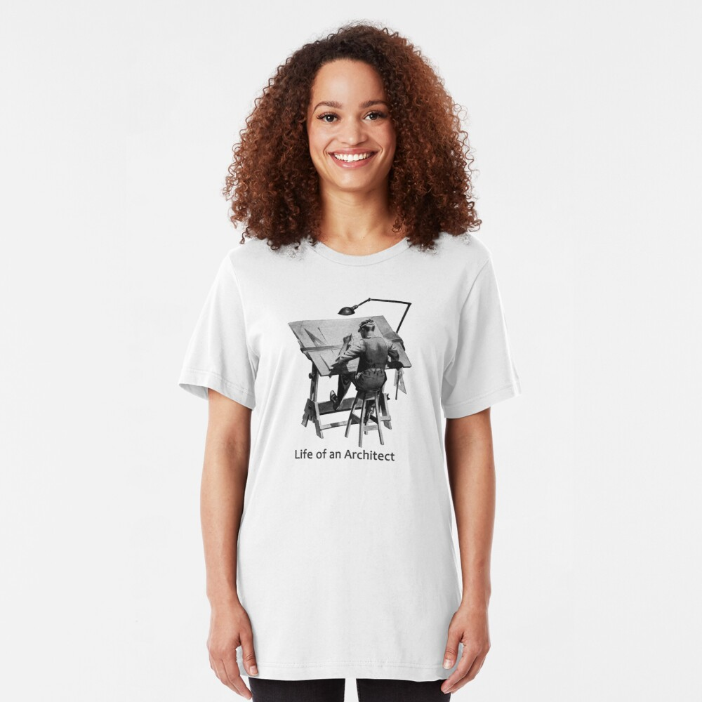 Life of an Architect Slim Fit T-Shirt