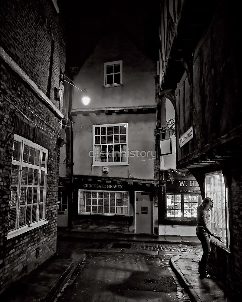 Tucking history away for the night by clickinhistory
