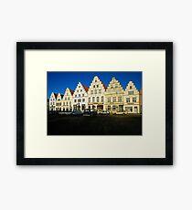 Friedrichstadt, Northern Germany. (1980s) Framed Print
