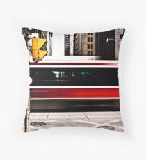 Street Car Throw Pillow