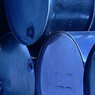 Industrial blue 2 by Elizabeth Rodriguez