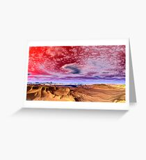 """""""SPIRAL CLOUDS AND DREAMS"""" Greeting Card"""