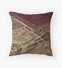 Kashgar Carpets Throw Pillow