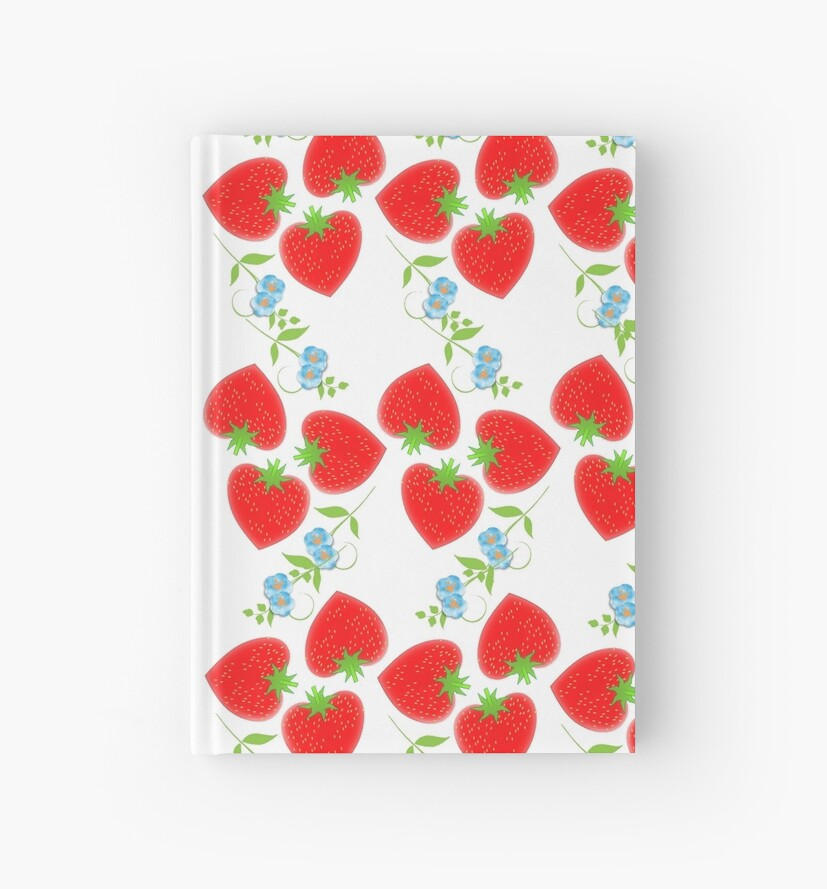 Sweet Summer Fresh Red Strawberries by Artification