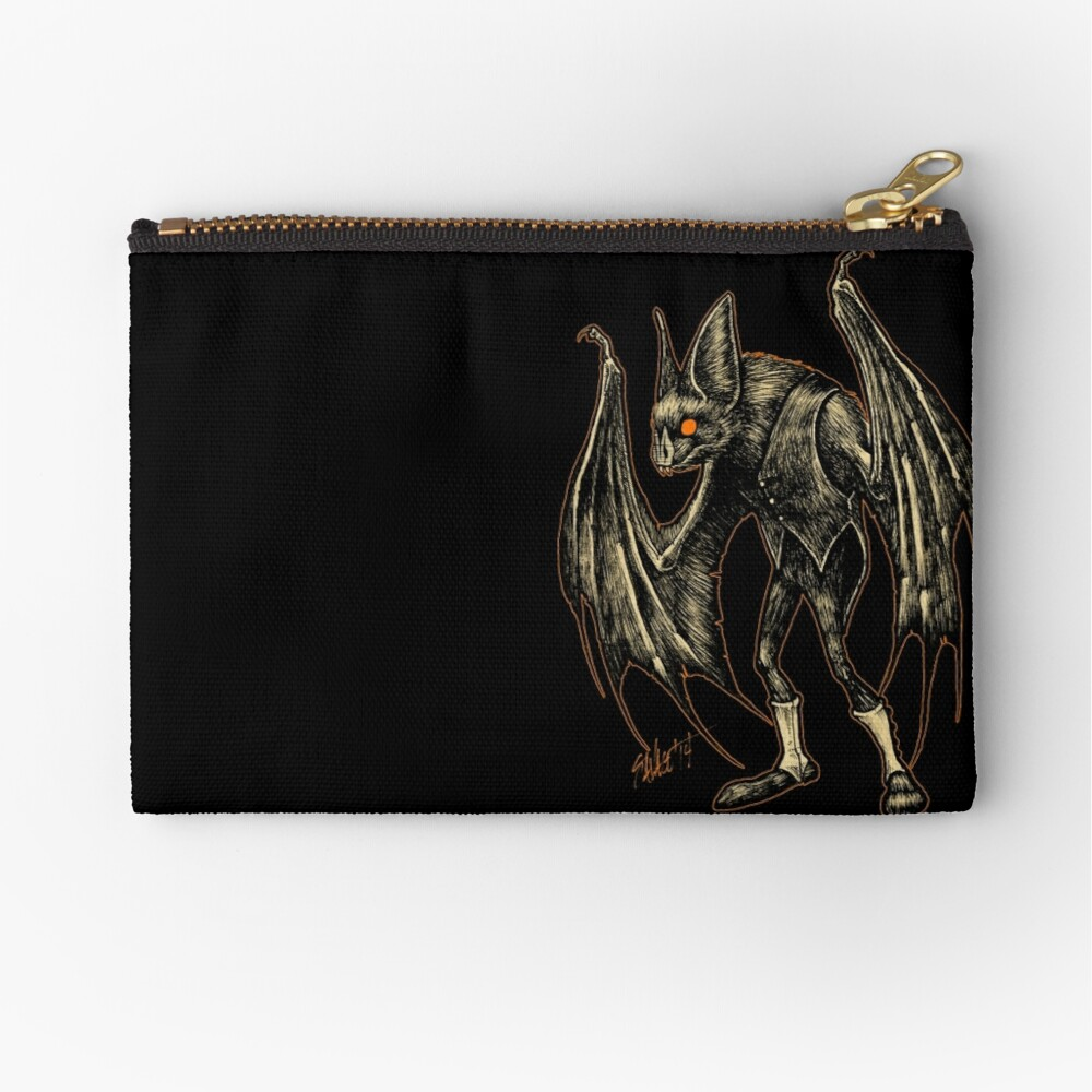 Autumn People 2 : Pugmeyer (Bat in Spats) Zipper Pouch