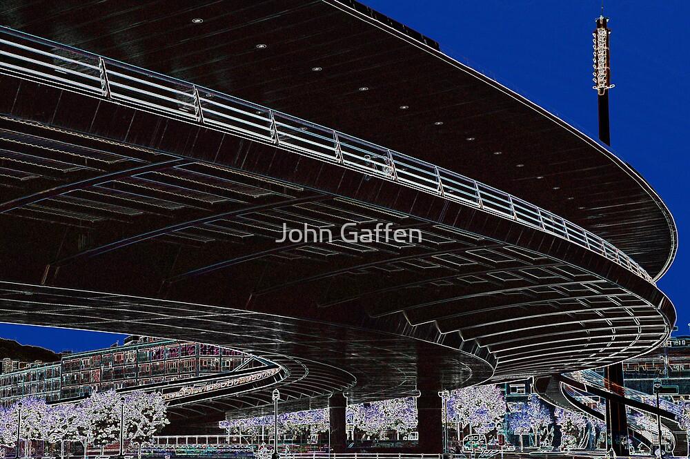 Under the Bridge by John Gaffen