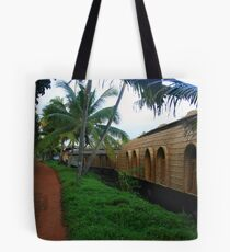 Village & The Houseboat Tote Bag