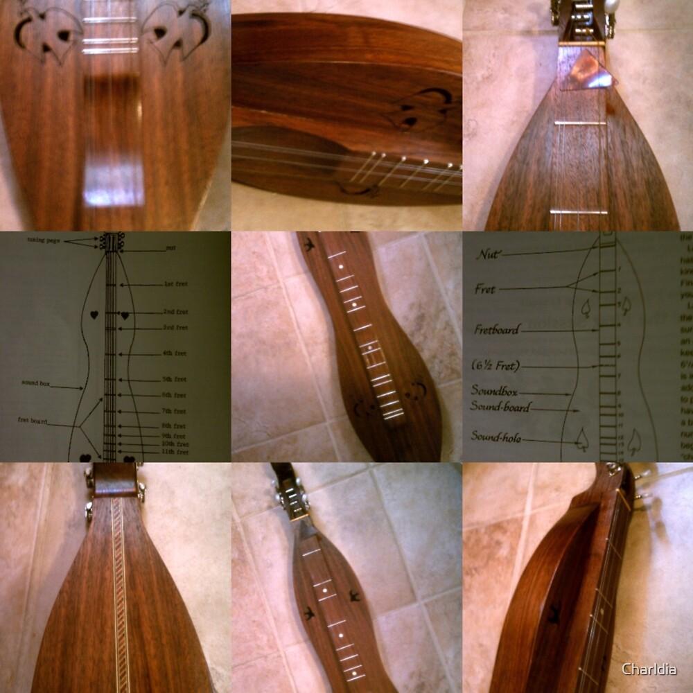 Three String Handmade Dulcimer by Charldia
