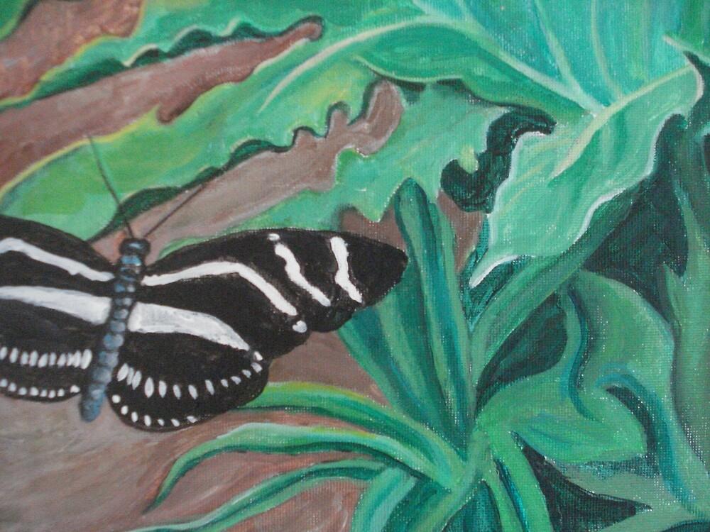 Zebra Landing by Emmychu2