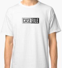 Casefile True Crime – Casefile Logo (Dark) Classic T-Shirt