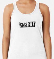 Casefile True Crime – Casefile Logo (Dark) Racerback Tank Top