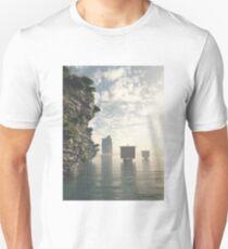 Viking Longships in Unknown Waters T-Shirt