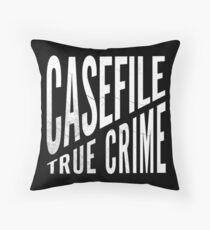 Casefile True Crime – CFTC (Light) Throw Pillow