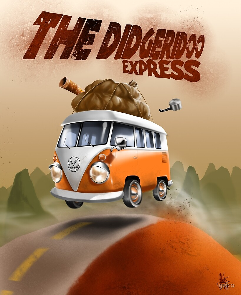 The Didgeridoo Express by guico