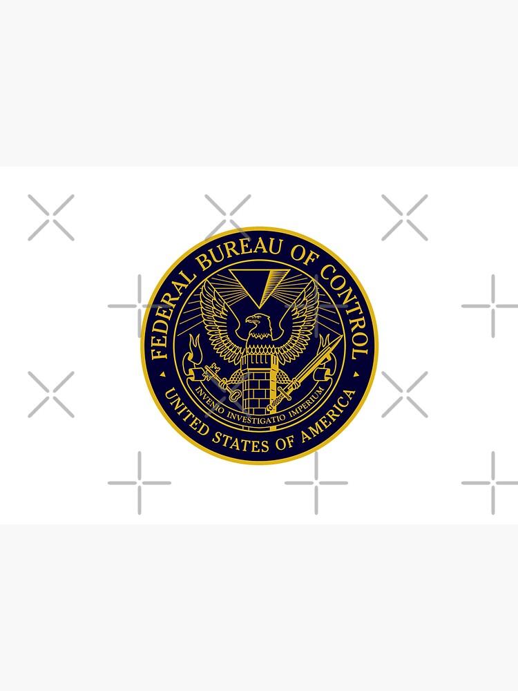 Federal Bureau of Control | Control Game Logo | Clean Logo by surik-