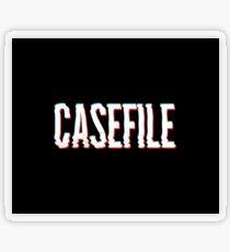 Casefile True Crime – Casefile Blurred Transparent Sticker