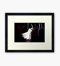 Eurydike (Pina Bausch) Framed Print