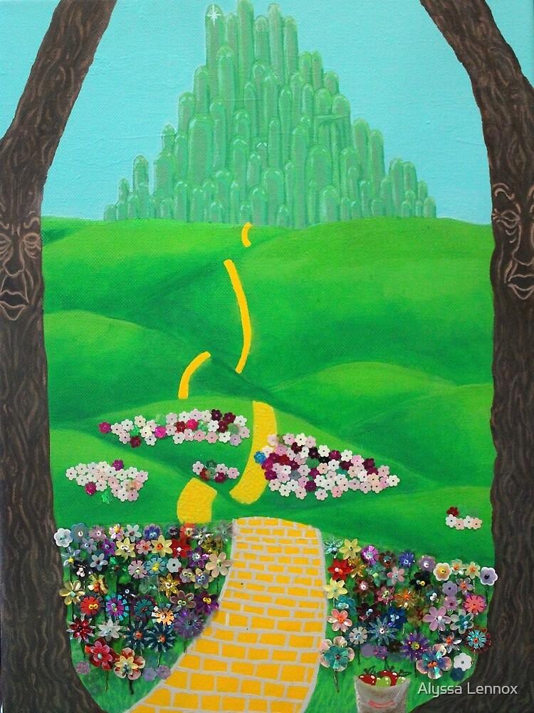 The Emerald City by SequinPalette