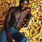 Reclining agricultural labourer - Haiti by markmccall