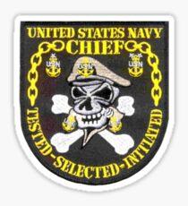 Navy Chief Petty Officer Sticker