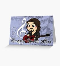 Rock Star Captain Athos ~ cards and prints Greeting Card
