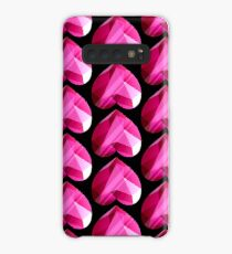 Steven Universe - Spinel Heart Gem 2nd Form - Black Background Case/Skin for Samsung Galaxy