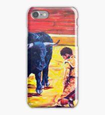 Torero arrepentido iPhone Case/Skin