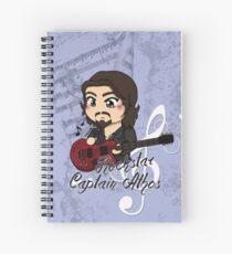 Rock Star Captain Athos ~ Spiral Notebook Spiral Notebook