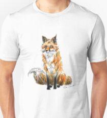 The Fox Illustration Unisex T-Shirt