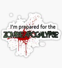 Zombie Apocalypse Sticker