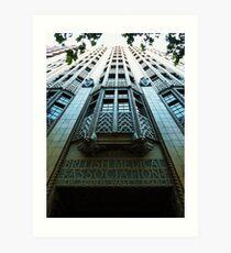 BMA House, Macquarie Street, Sydney Art Print