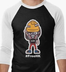 Free Hong Kong Baseball ¾ Sleeve T-Shirt
