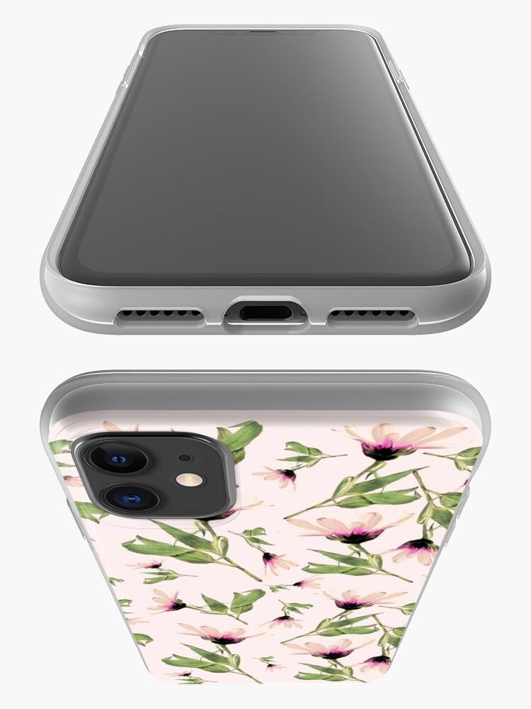 Alternative Ansicht von Rosa Romantik blühen iPhone-Hülle & Cover