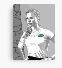 Sookie. ©Charlaine Harris and HBO/TrueBlood. Metal Print