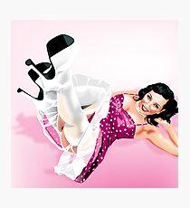 Elizabeth Olmos Texas Pin-Up Girl Photographic Print