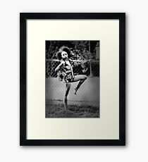 Shawn of the 70s Framed Print