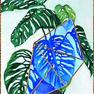 House Plant - Split Leaf Philodendron by ideateandcreate