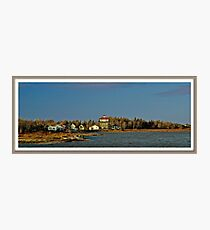 Flooded Bouctouche Baie NB Canada Photographic Print
