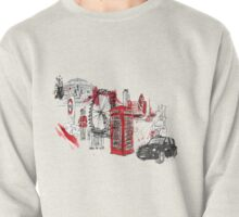 London Town Illustration Pullover