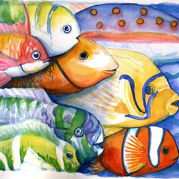 Creation Fish by DebStuckey