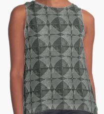 Dim Gray Blanket Sleeveless Top
