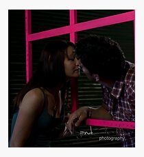A kiss is but a kiss Photographic Print