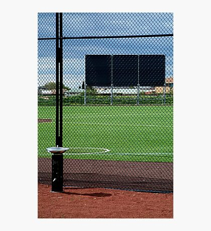 Baseball Field Photographic Print