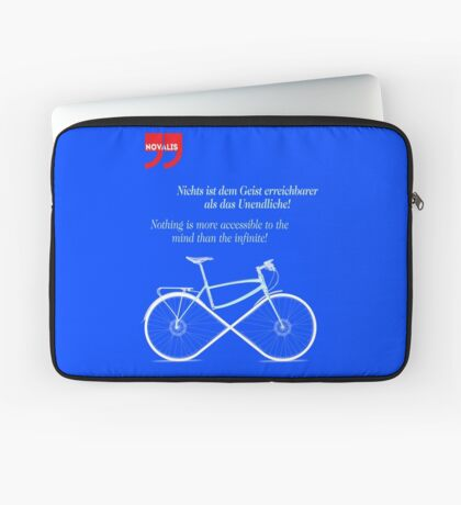 Ride To Infinity (quotation) Laptop Sleeve