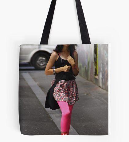 Jaunty Pink Tote Bag