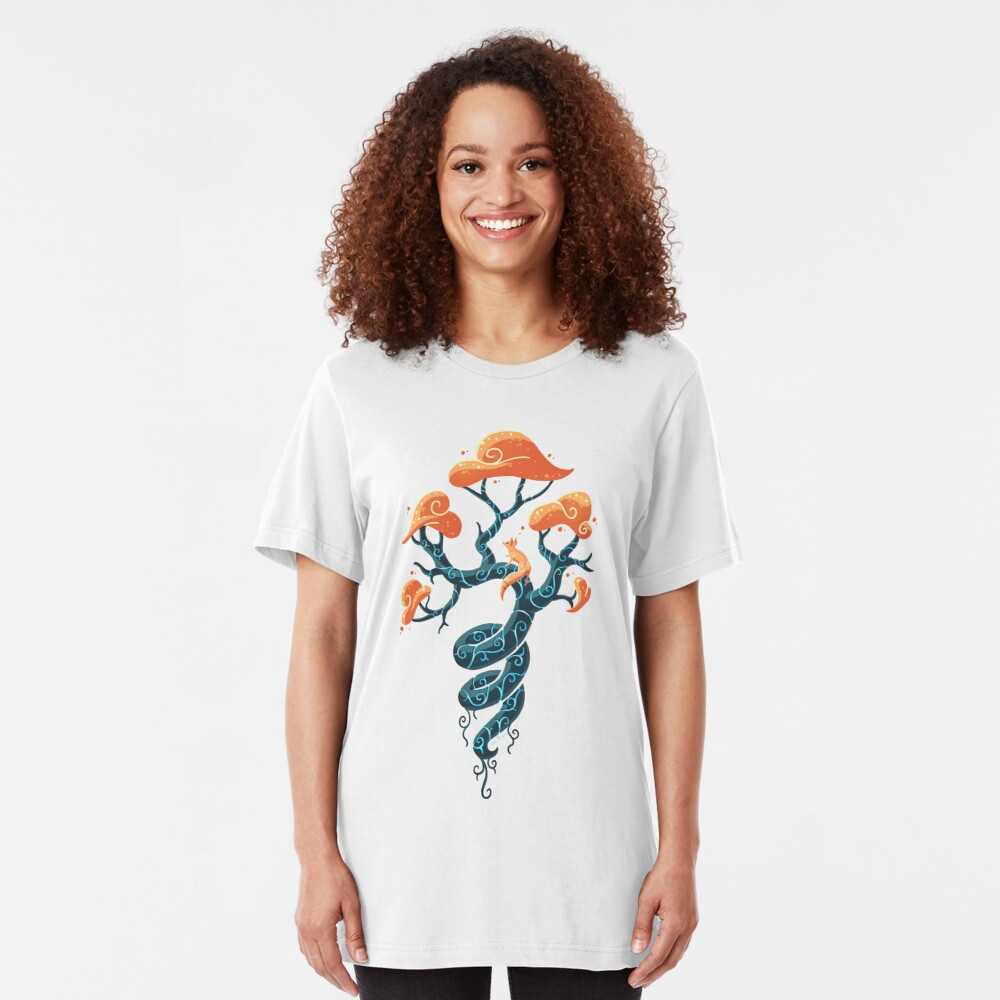 Magic Tree Slim Fit T-Shirt