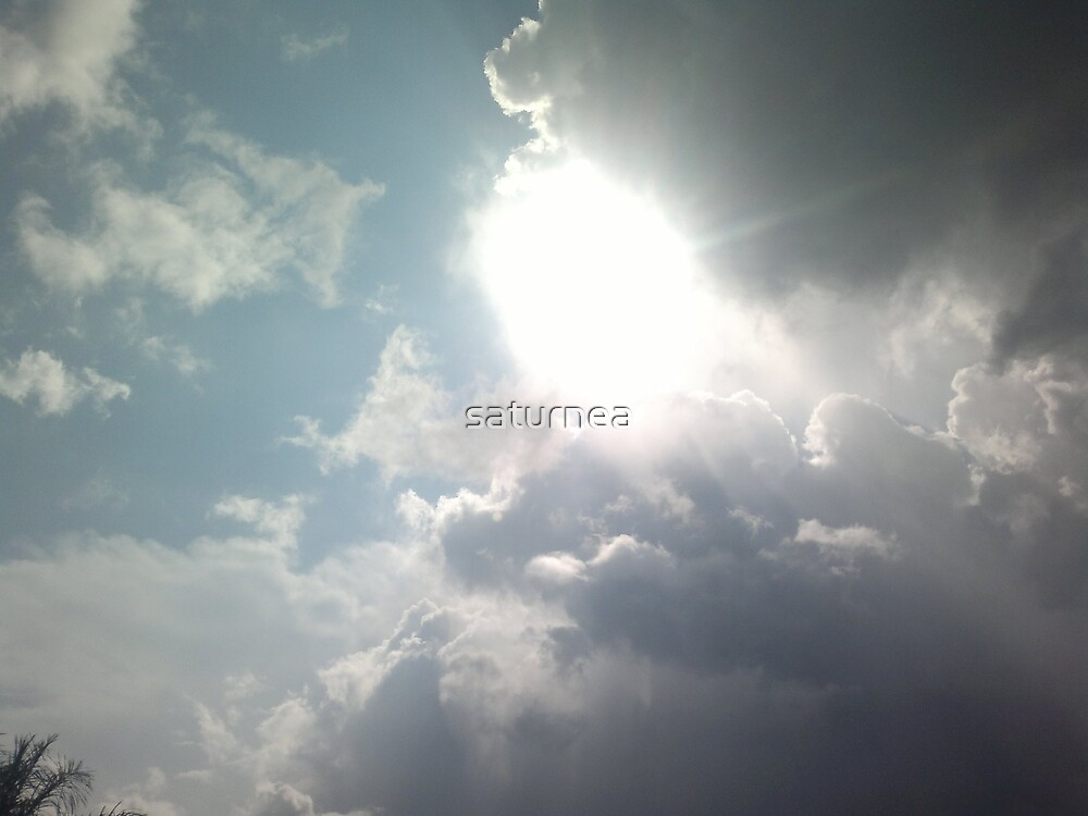 White sun by saturnea