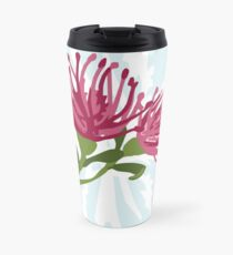 Australian Native Pink Grevillea Travel Mug