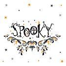 Spooky Halloween by HoneyBeeCre8tiv