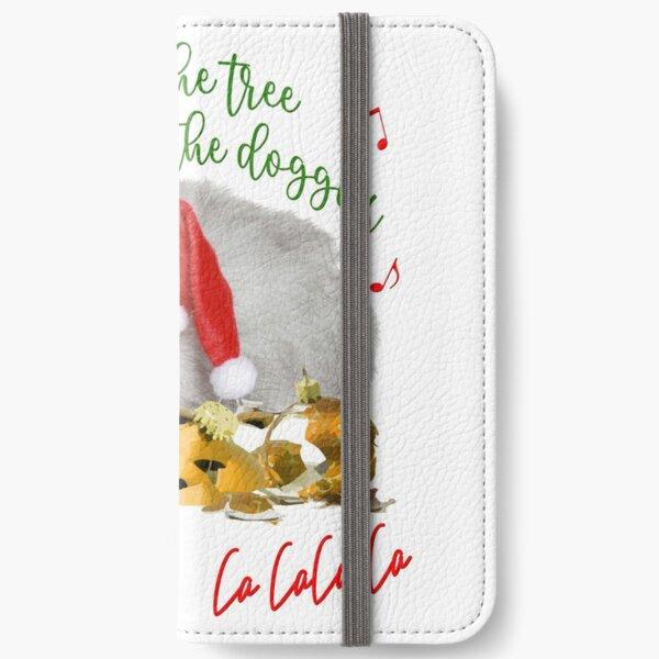 Funny Christmas Cat Falalalala iPhone Wallet